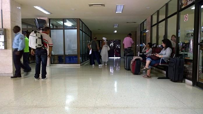 В аэропорту Кубы