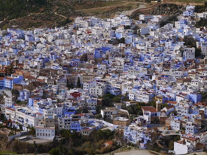 Самый уютный город Марокко - Шефшауэн