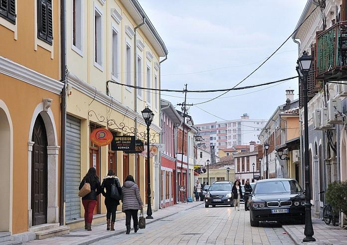 Улочки около главного проспекта в центре