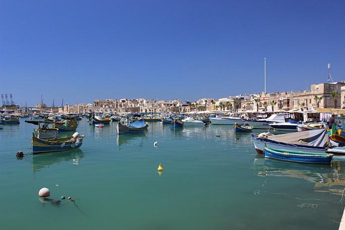 Открыточный вид Мальты