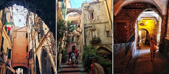 Улочки Старого города Сан-Ремо