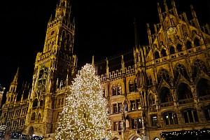 Рождественская пора в Мюнхене