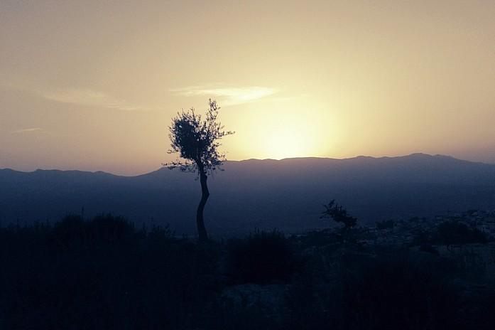 Закат в горах над Шефшауэном