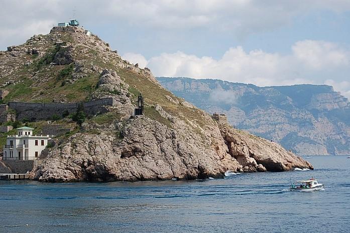 выход из бухты в открытое море