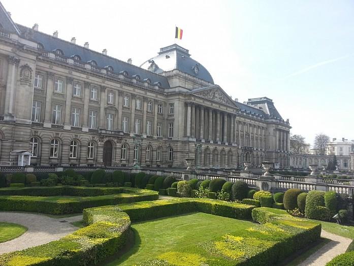 <em>Королевский дворец в Брюсселе </em>