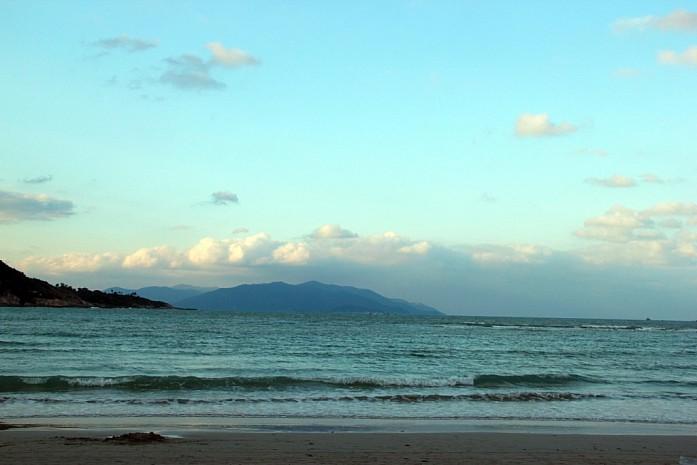 Один из мелководных пляжей на острове Самуи