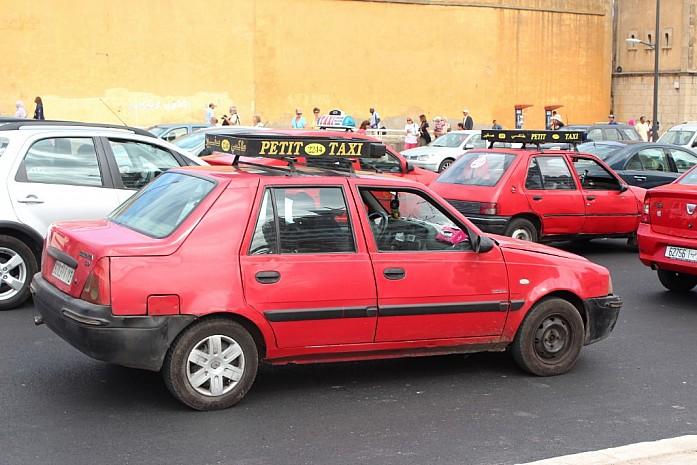 Местные петит (городские) такси