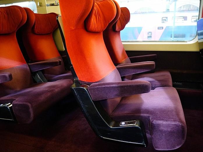 поезд SNCB из Парижа в Брюссель