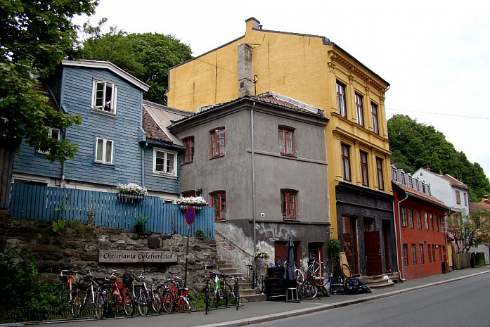 улица Damstredet