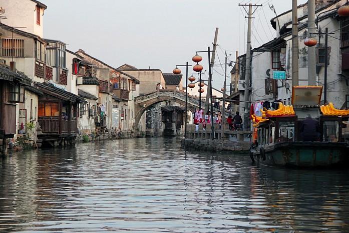 Водные каналы в Сучжоу