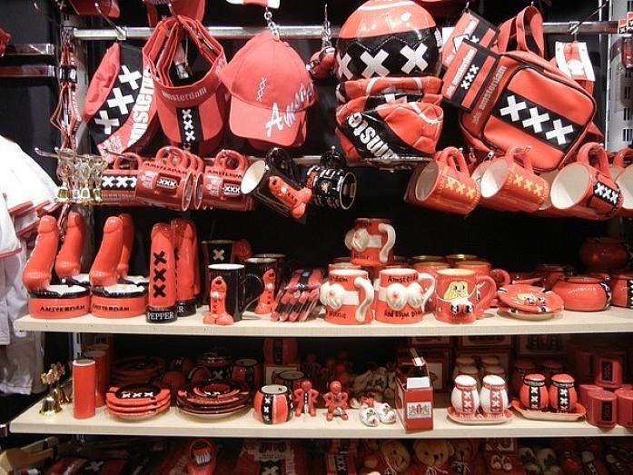 Обычные астердамские сувениры