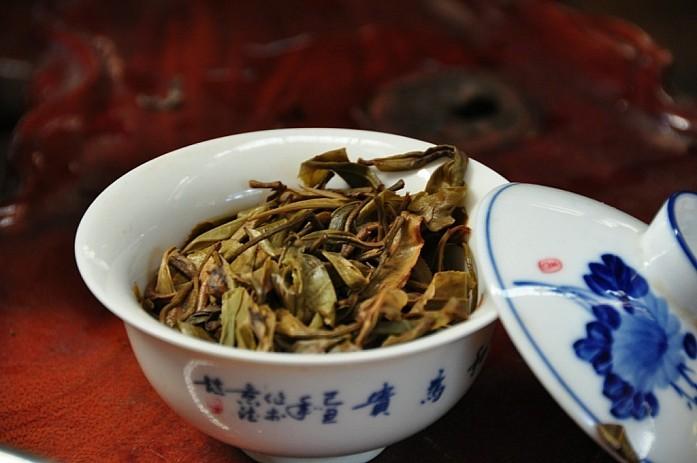 Свежий чай в гайвани (так называется этот девайс для заваривания чая)