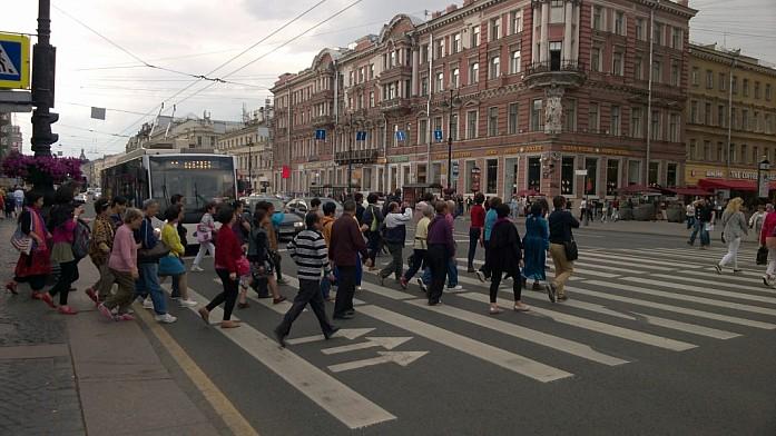 Санкт-Петербург оказался на удивление китайским городом