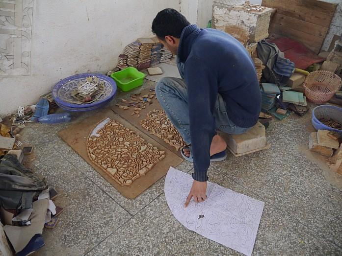 Как производят керамику в Марокко