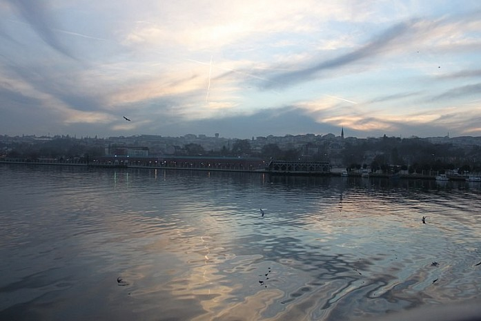 Босфор, вид на город с воды