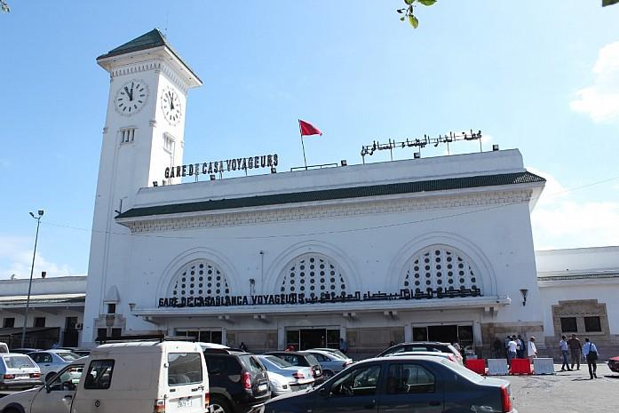 Центральный вокзал Касабланки