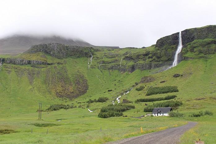 Многочисленные водопады