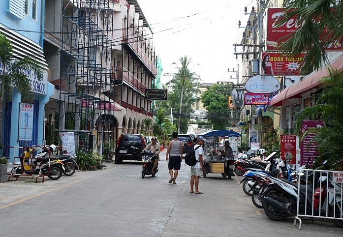 Обычная улица в Патонге