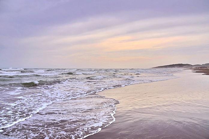 Чудесные закаты на бесконечной береговой линии