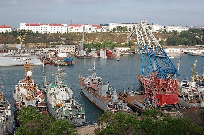 корабли в бухте