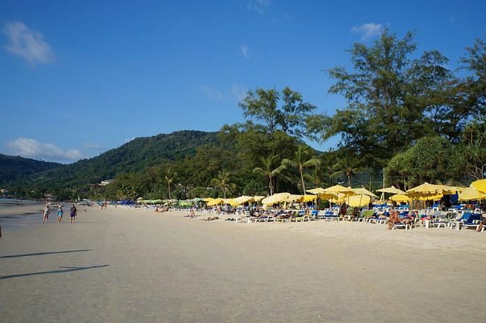 Пляж в Патонге