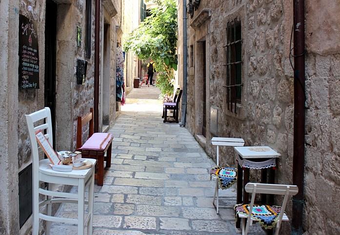 Улица в старом городе Дубровника