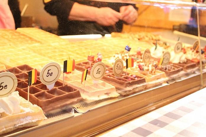 Бельгийские вафли, Брюссель, 2014 - фото: Мария Горковская