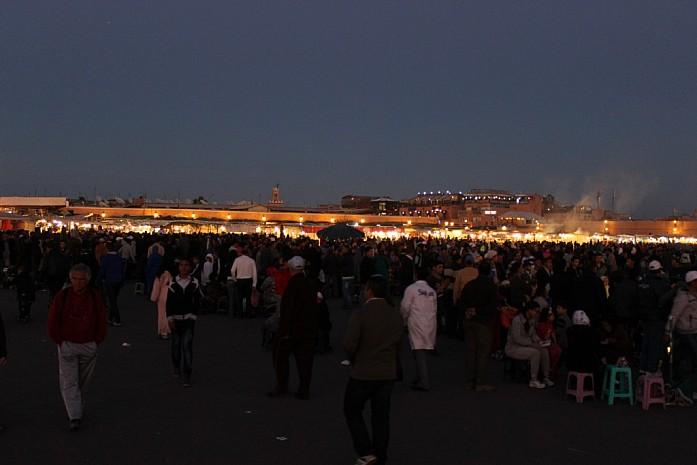 Площадь Джема-эль-Фна