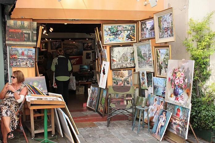 Монмартр - приют художников