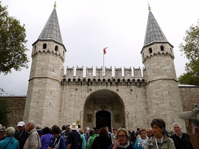 ворота во дворец Топкапы