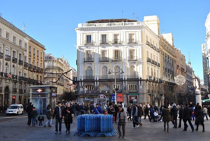 Новогодняя ночь в Мадриде