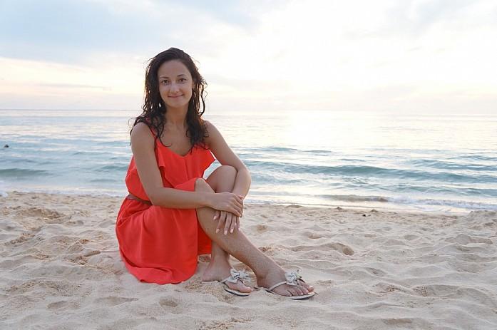 Я на пляже Карон