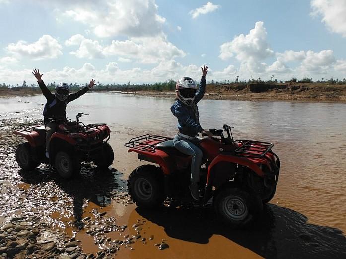 Пересекаем реку
