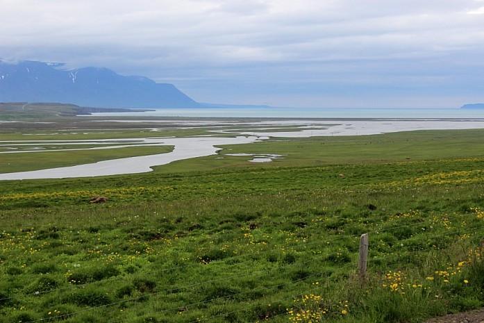 Извилистые речки региона Скагафьордур