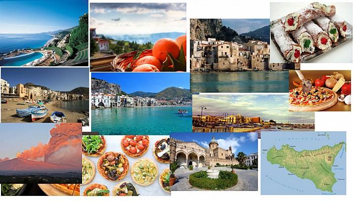 Сицилия в красках