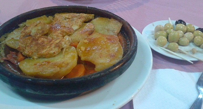 Таджин - главное национальное блюдо Марокко
