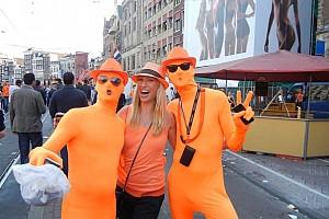 Все оранжевое или тюльпаны, музей секса и День Королевы