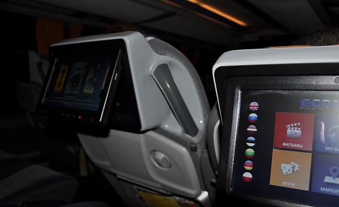 сенсорные экраны в автобусе