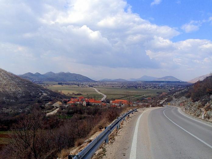 На пути в Черногорию