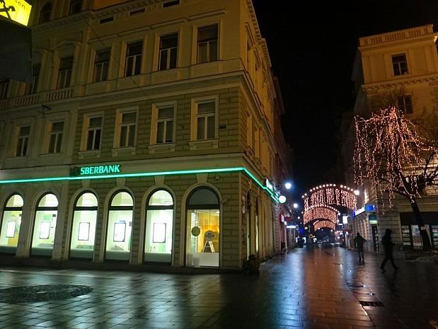 улица Ферхадия, на которой сосредоточена огромная часть ресторанов и кафе