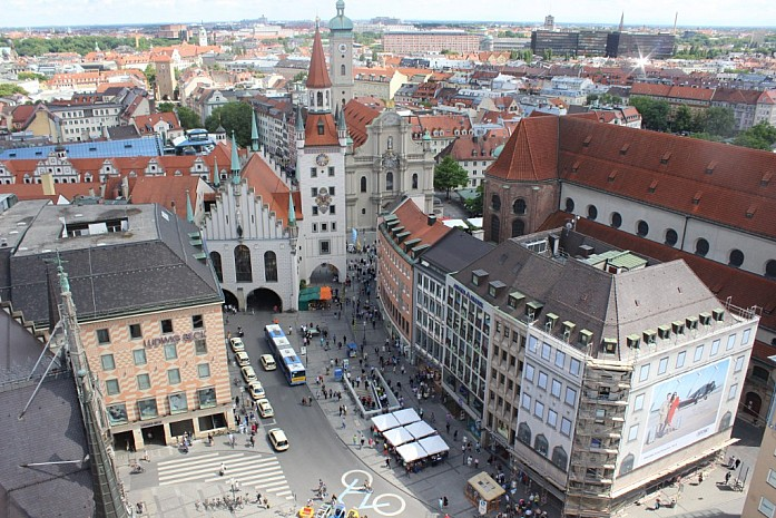 Пересадка в Мюнхене - идеальная возможность осмотреть центр города