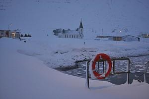 Засыпанные снегом с Сюдюрейри