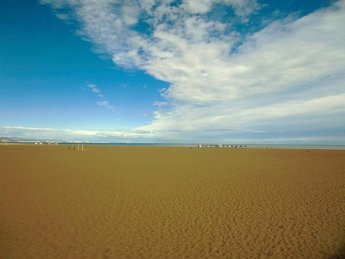 <em>Городской пляж Валенсии</em>