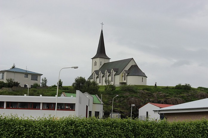 Первая церквушка (город Боргарнес)