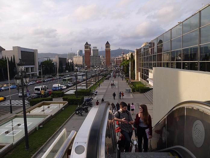 Барселона - взгляд на город со смотровых площадок