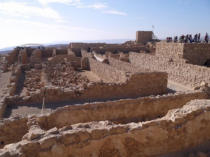 Крепость Масада - памятник храбрости