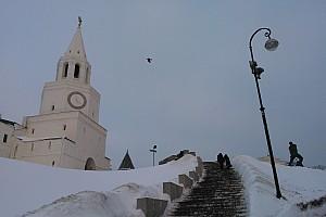 Прогулки по Казани. Часть 2. Гуляем возле Кремля и по улице Баумана