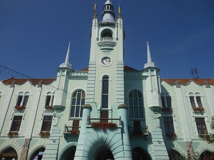 Городская ратуша в Мукачево.