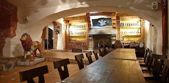 Дизайн одного из ресторанов