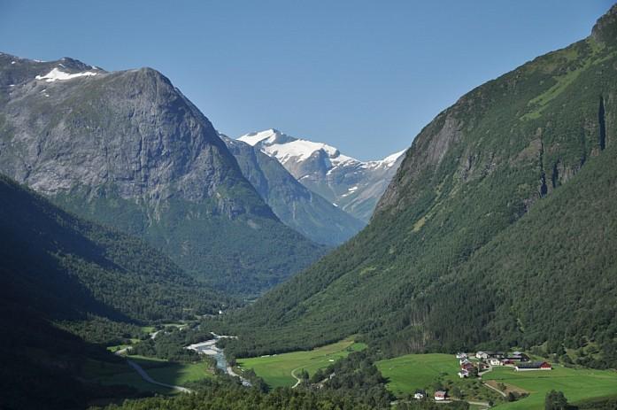 На пути к Гейрангер-фьорду